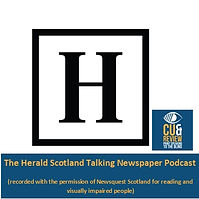 Click the Herald Cue and Review logo to listen to Herald Scotland articles uploaded every weekday