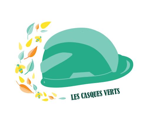 Logo Les casques verts