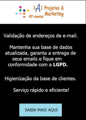 Validação base e-mail