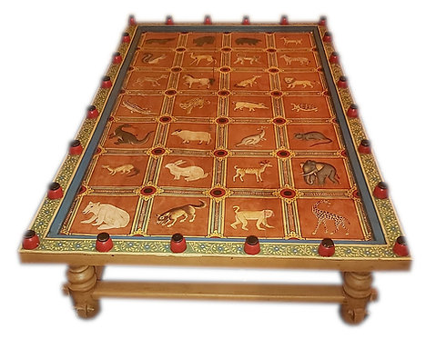 Table basse aux animaux