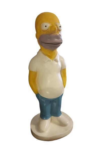 Statue en résine Homer Simpson des années 90.