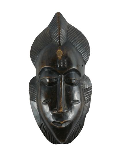 Petit masque africain en bois.