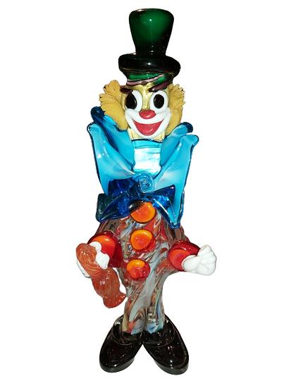 Clown en murano.