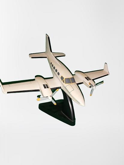 Maquette d'avion en résine.