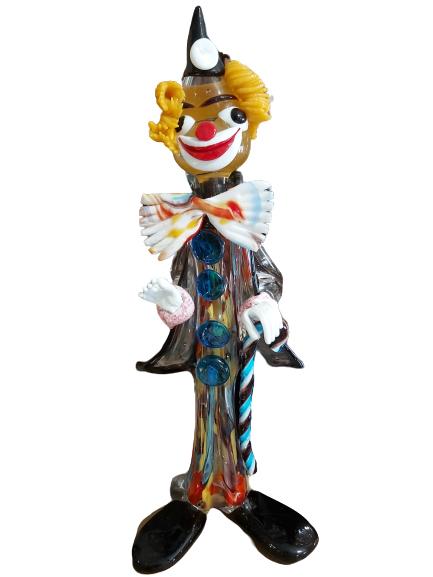 Murano : grand clown à la canne.