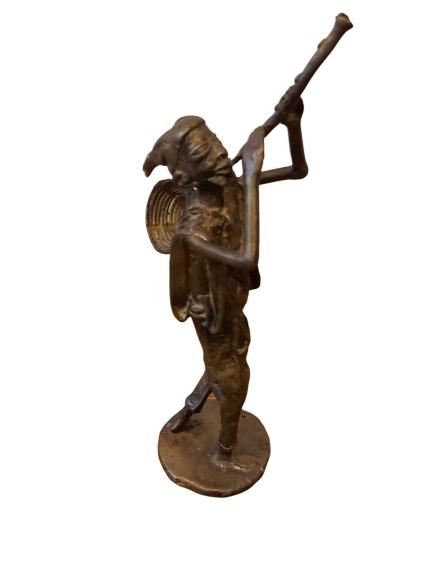 """""""PAN"""" en bronze."""