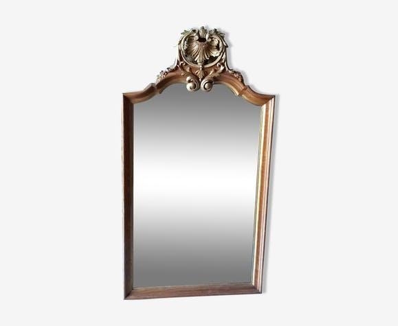 Miroir d'époque Napoléon III.