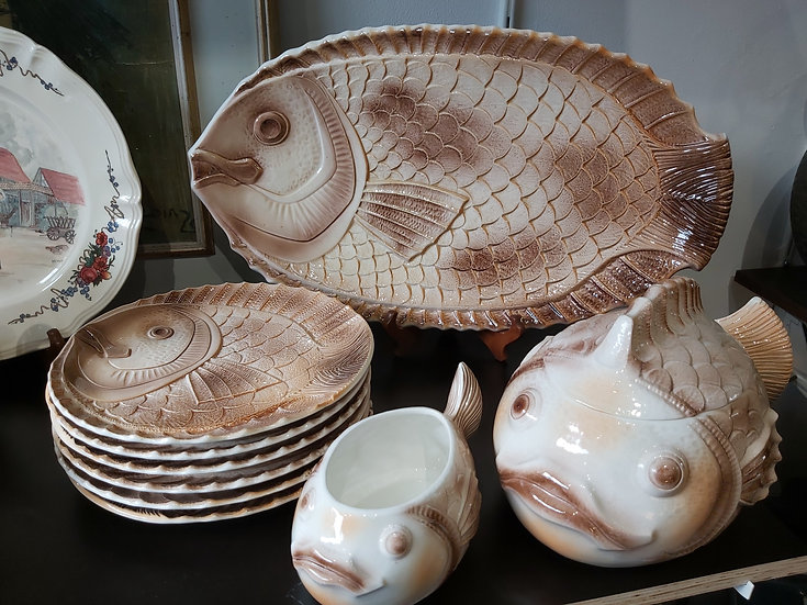 Service à poissons Sarreguemines