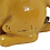 Thumbnail: Veilleuse chien en faïence.