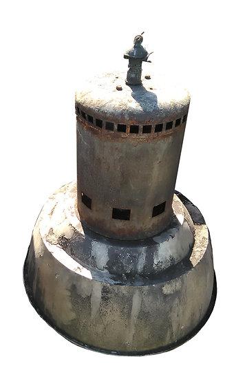 Ancienne lampe industrielle.