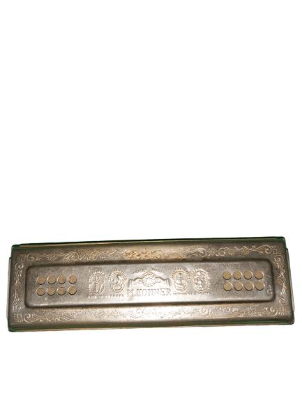 Ancien harmonica de marque Horner.