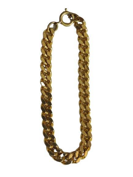 Petit bracelet doré dame.