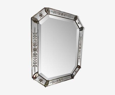 Grand miroir vénitien.