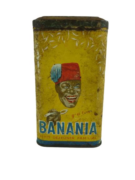 Ancienne boite BANANIA.