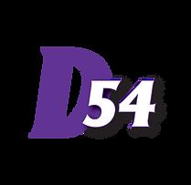 District 54 logo