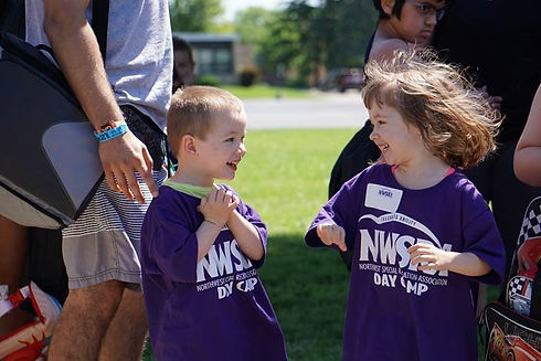 NWSRA participants making friends at program