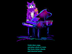 Violet DizzyCat's bio