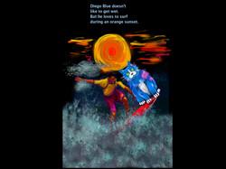 Diego Blue DizzyCat