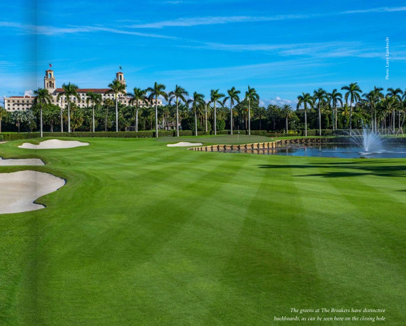 THE BREAKERS OCEAN COUSE IN PALM BEACH FL ADDS TIFEAGLE GREENS