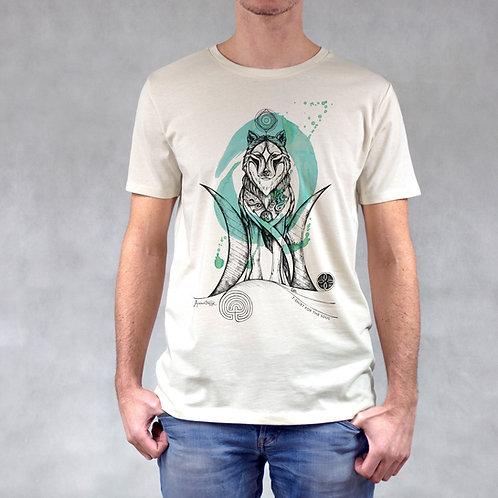 T-shirt uomo stampa Lupo