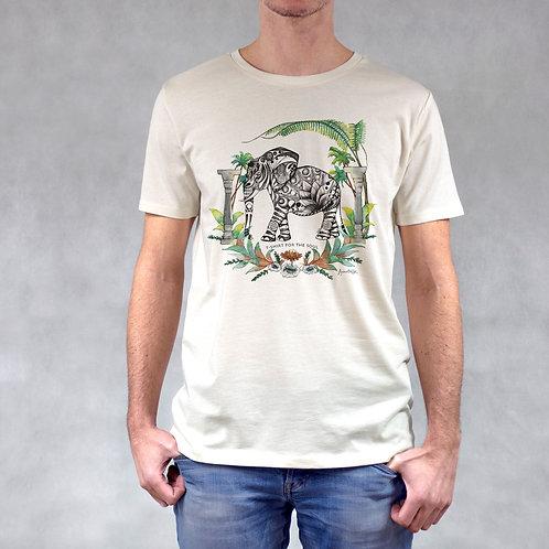 T-shirt uomo stampa Elefante