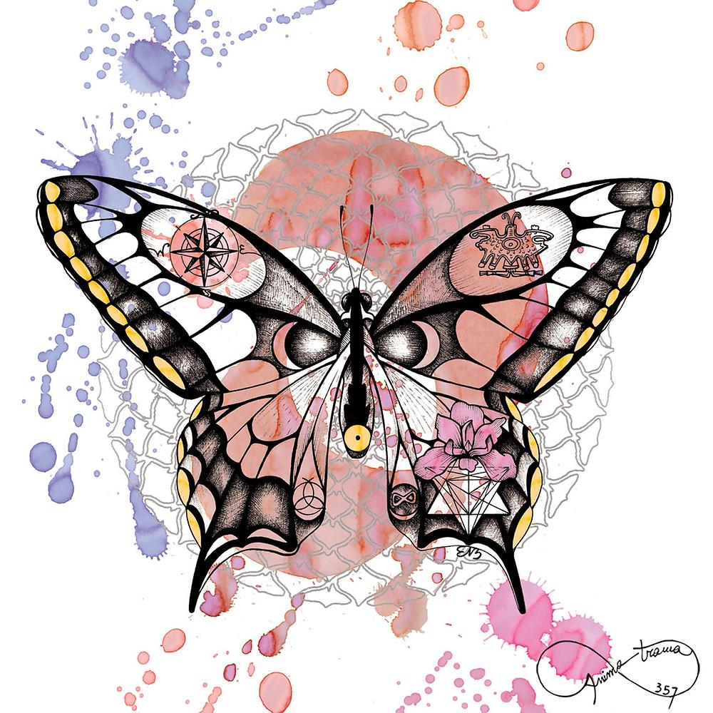 Farfalla Animale Guida