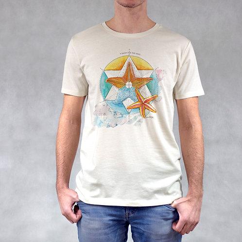 T-shirt uomo stampa Stella