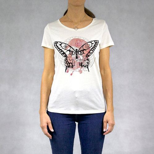 T-shirt donna stampa Farfalla