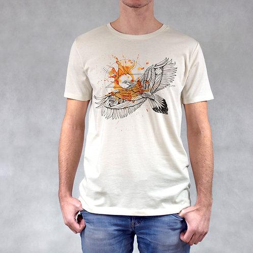 T-shirt uomo stampa Aquila