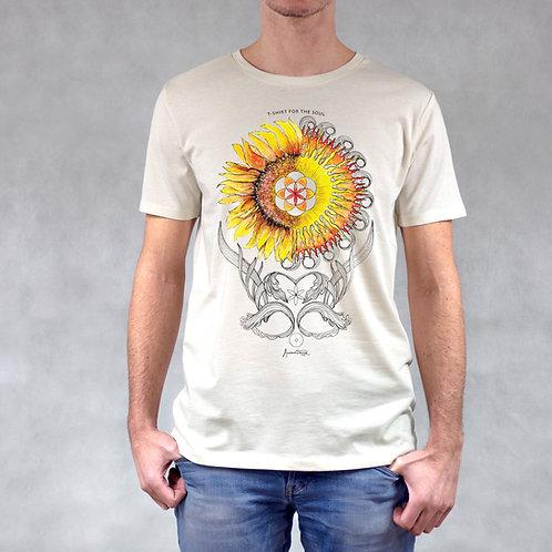 T-shirt uomo stampa Sole
