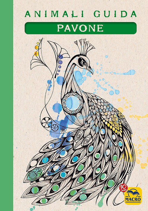 Quaderno Animali Guida - Pavone