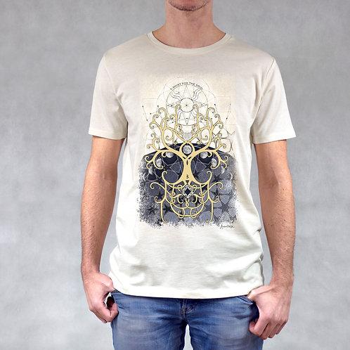 T-shirt uomo stampa Albero della Vita