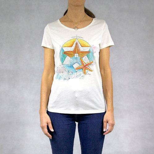 T-shirt donna stampa Stella