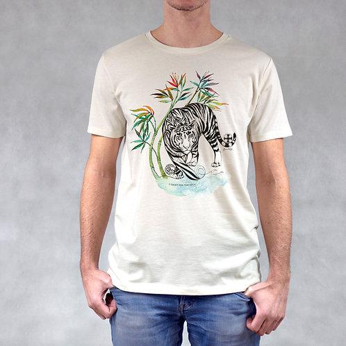 T-shirt uomo stampa Tigre
