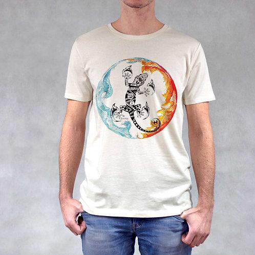 T-shirt uomo stampa Geco