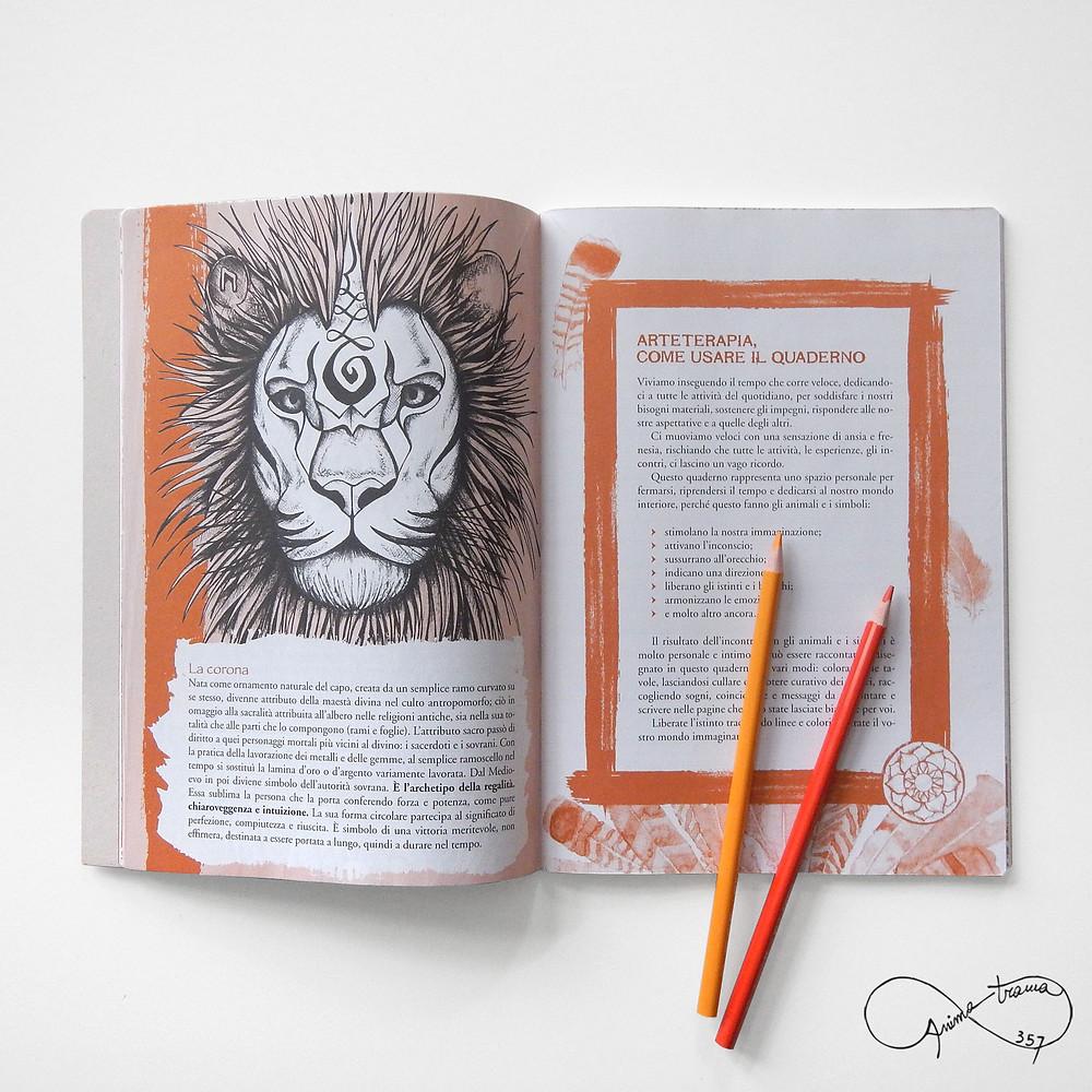 Quaderno del Leone, interno.