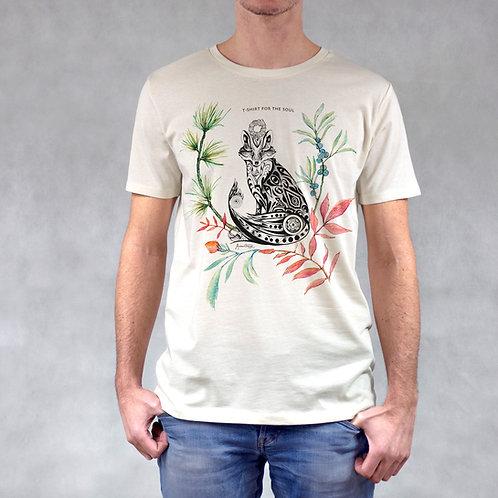 T-shirt uomo stampa Volpe
