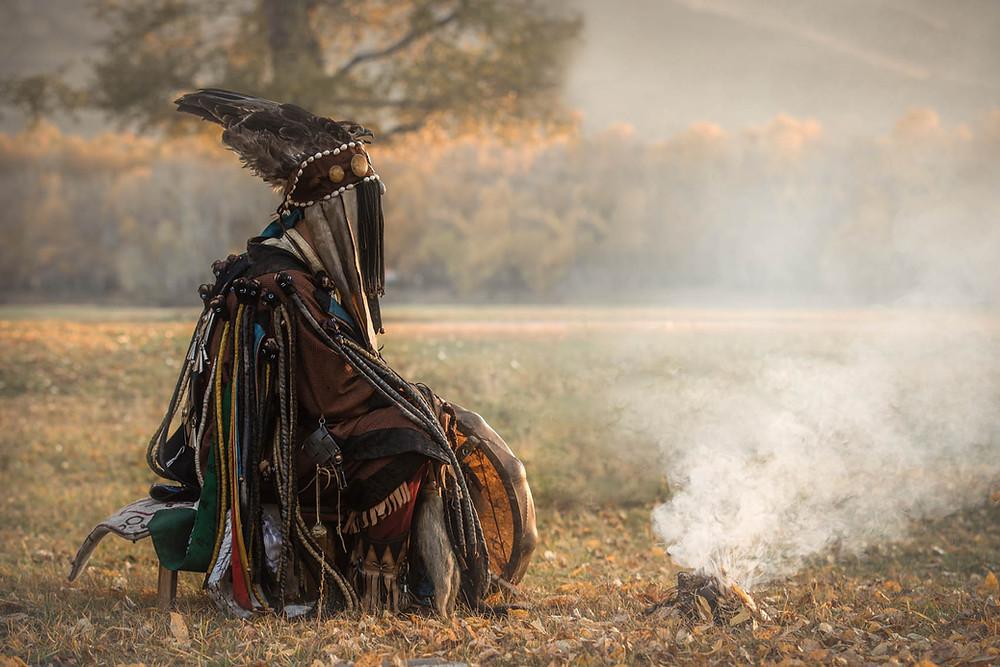 Sciamano mongolo