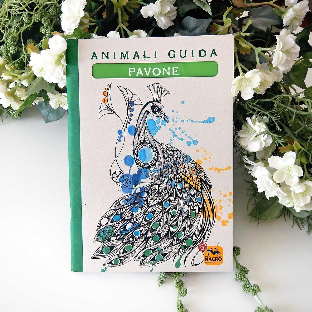 Quaderno del Pavone come animale guida.