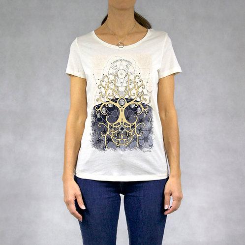 T-shirt donna stampa Albero della Vita
