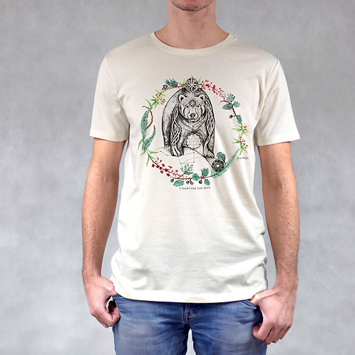 T-shirt uomo stampa Orso