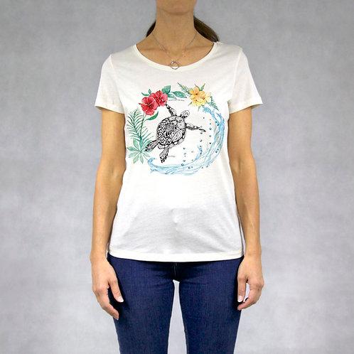 T-shirt donna stampa Tartaruga