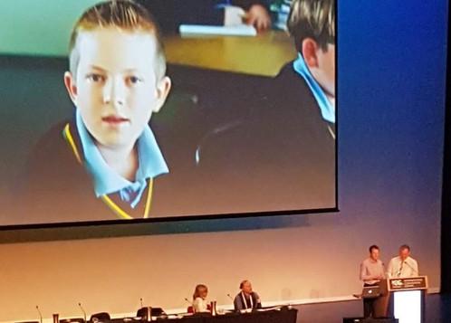 Daniel and Daryl speaking at APAC 2017, Sydney