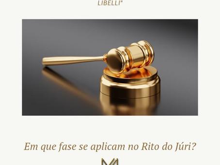 """Emendatio libelli"" e ""mutatio libelli"" em que fase se aplicam no rito do júri?"