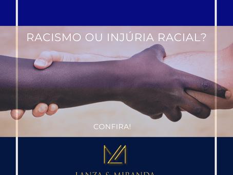 Você sabe a diferença entre Racismo e Injúria Racial?