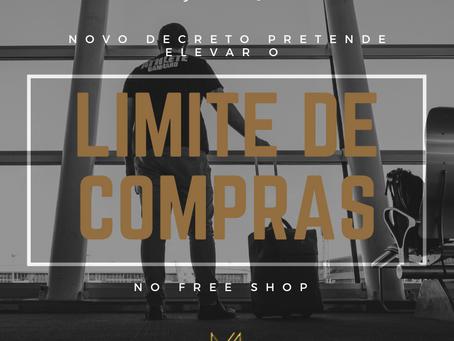 NOVO LIMITE DE COMPRAS NO FREE SHOP