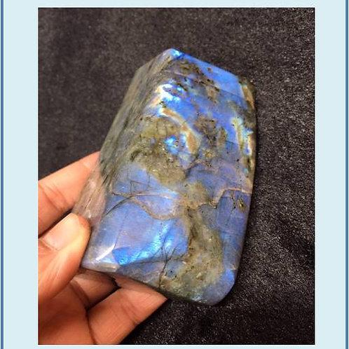 Natural moonstone ornament