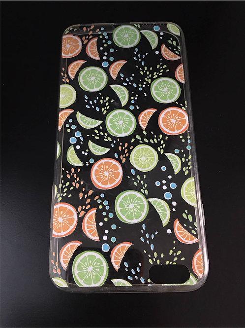 Transparent mobile phone case: Zitrus fruits