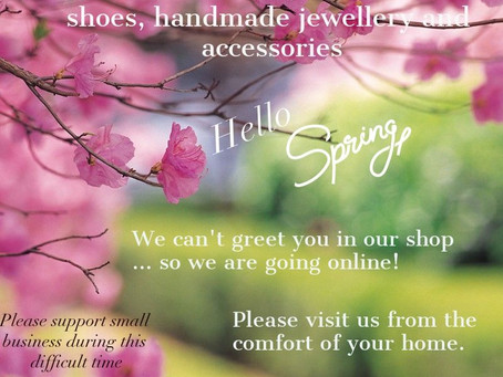 Our Online shop is Live! Please visit us from the comfort of your home and let your friends know too