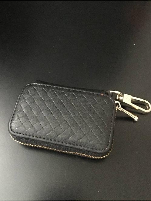 Leather car key holder / wallet